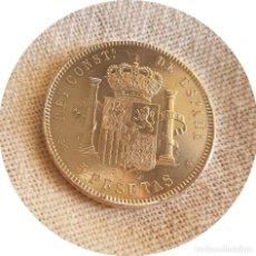 Monedas de España: ALFONSO XIII, 5 EXTRAORDINARIAS PESETAS DE 1898, ESTRELLAS *18 *98 - EBC - PLATA. Lote 175388774
