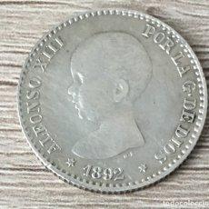 Monedas de España: 50 CENTIMOS 1892*9-2. Lote 175916442