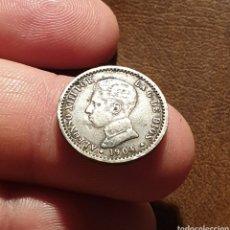 Monedas de España: ALFONSO XIII 50 CENTIMOS PLATA 1904 - PÁTINA. Lote 175938465