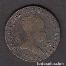Monedas de España: MONEDA ISABEL II 8 MARAVEDIES 1842. Lote 176167535
