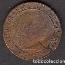 Monedas de España: MONEDA ISABEL II 2,5 CENTIMOS 1867. Lote 176170202