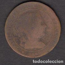 Monedas de España: MONEDA ISABEL II 2,5 CENTIMOS 1868. Lote 176172153
