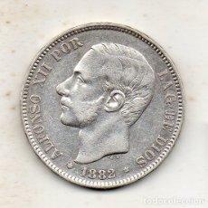 Monedas de España: ALFONSO XII. 5 PESETAS. AÑO 1882 *18 *82. PLATA.. Lote 176191928