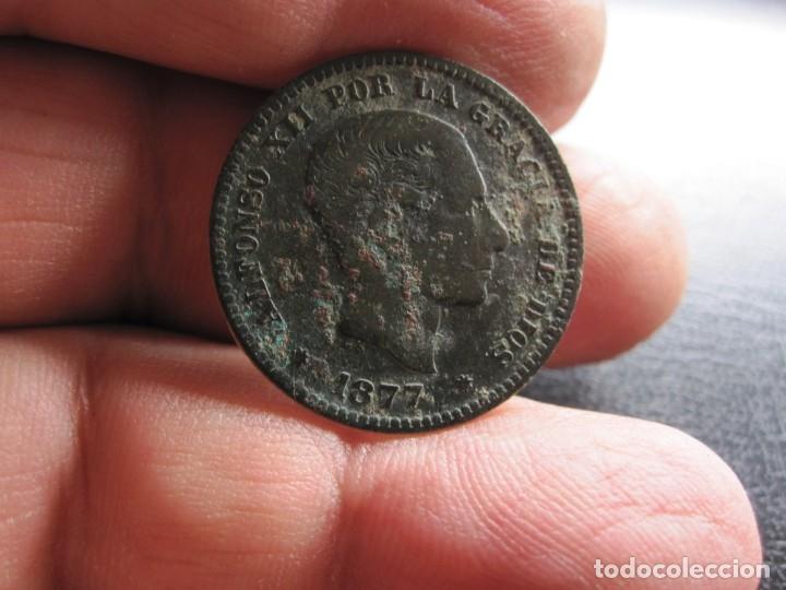 ALFONSO XIII 5 CENTIMOS 1877 (Numismática - España Modernas y Contemporáneas - De Isabel II (1.834) a Alfonso XIII (1.931))