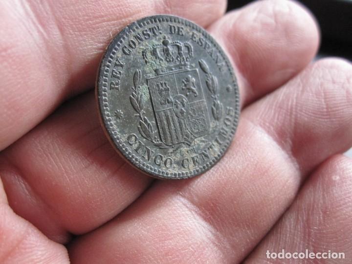 Monedas de España: ALFONSO XIII 5 CENTIMOS 1877 - Foto 2 - 176265485