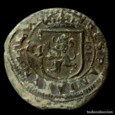 Monedas de España: FELIPE III, 8 MARAVEDIS DE SEGOVIA 1618 (RESELLO 1641 FELIPE IV).. Lote 146804078
