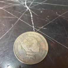 Monedas de España: MONEDA DE DIEZ CENTIMOS ALFONSOXII - AÑO 1879 . Lote 176552639