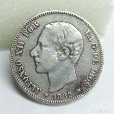 Monedas de España: MONEDA DE PLATA - 2 PESETAS DE 1882, ALFONSO XII. Lote 176674127