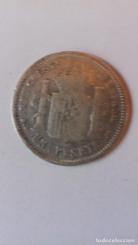 Monedas de España: Moneda de plata de ALFONSO XIII del año 1904 - Foto 5 - 176693949