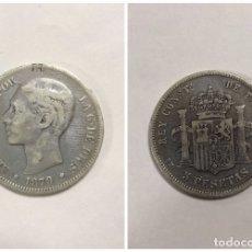 Monedas de España: ALFONSO XIII. 5 PESETAS. AÑO 1879. PLATA. 24.4 GR. EMM. . Lote 176887768