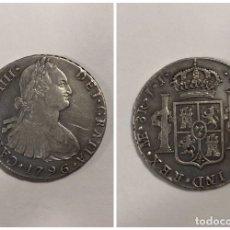 Monedas de España: LIMA. 8 REALES. CARLOS IIII. AÑO 1796. PLATA. 26.6 GR. . Lote 176891595