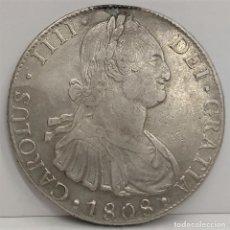 Monedas de España: ESPAÑA 1808 - 8 REALES - POTOSI PJ - CARLOS IV - EBC+ PLATA. Lote 176929745