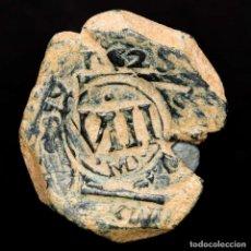 Monedas de España: FELIPE III, VIII MARAVEDIS 1625 VALLADOLID, RESELLO VIII MADRID 1641. Lote 176938525