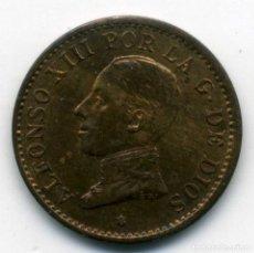 Monedas de España: ALFONSO XIII - 1 CENTIMO 1912 (*2) MADRID PC V - S/C. Lote 176961550