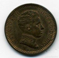 Monedas de España: ALFONSO XIII - 2 CENTIMOS 1904 (*04) MADRID SM V - S/C. Lote 176962153