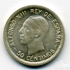 Monedas de España: ALFONSO XIII - 50 CENTIMOS 1926 PC S - EBC. Lote 176966870