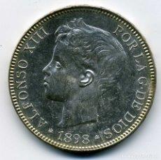 Monedas de España: ALFONSO XIII - 5 PESETAS 1898 (*18-98) MADRID SG V - S/C. Lote 176991217