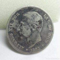 Monedas de España: MONEDA DE PLATA - 2 PESETAS DE 1882, ALFONSO XII. Lote 177050527