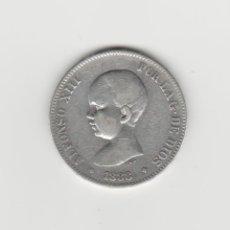 Monedas de España: ALFONSO XIII- 5 PESETAS-1888*18---MPM. Lote 177294628
