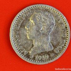 Monedas de España: MONEDA DE 50 CENTIMOS: 1910 PCV ESTRELLAS (1)(0) MBC. Lote 177415810