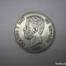 Monedas de España: 5 PESETAS DE PLATA DE 1871. 18-71. REY AMADEO I DE SABOYA. Lote 177416870