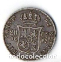 20 CS. DE PESO DE MANILA. ALFONSO XII 1.882 DE PLATA, MBC. (Numismática - España Modernas y Contemporáneas - De Isabel II (1.834) a Alfonso XIII (1.931))