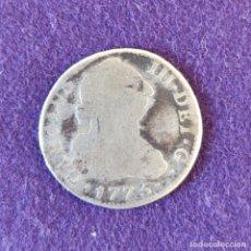 Monedas de España: MONEDA ORIGINAL DE 2 REALES PLATA. CARLOS III. 1775. MADRID. . Lote 177657549