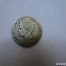 Monedas de España: 50 CÉNTIMOS. PLATA. ALFONSO XIII. 1900. Lote 177790499