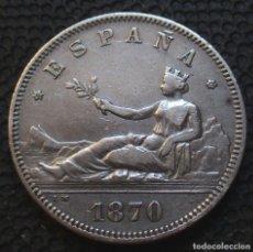Monete da Spagna: 2 PESETAS 1870 *18*-*73* GOB. PROVISIONAL - REF.1 4 FOTOS -PLATA-. Lote 177878969