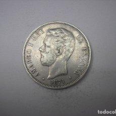 Monedas de España: 5 PESETAS DE PLATA DE 1871. 18-71. REY AMADEO I DE SABOYA. Lote 178007694