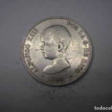 Monedas de España: 5 PESETAS DE PLATA DE 1889 18-8- REY ALFONSO XIII. . Lote 178050804
