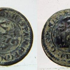 Monedas de España: MONEDA DE FELIPE III 4 MARAVEDIS DE 1601 RESELLADA. Lote 178139469