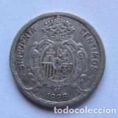 Monedas de España: MONEDA DE 50 CÉNTIMOS DE PLATA DEL AÑO 1926, ALFONSO XIII.. Lote 178393458