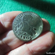 Monedas de España: BONITA MONEDA DE 4 MARAVEDIS CARLOS IV, FECHA ESCASA 1805 . Lote 178560511