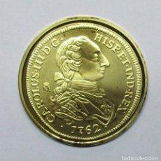 Monedas de España: 8 ESCUDOS, 1762. CARLOS III. CECA DE SEVILLA REPLICA EN PLATA DE 925/000 DE LA F.N.M.T LOTE 1993. Lote 178593798