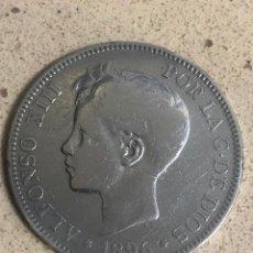Monedas de España: 5 PESETAS DURO DE PLATA ALFONSO XIII. Lote 178823893