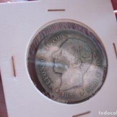 Monedas de España: ALFONSO XII 2 PTAS. 1882 PLATA. Lote 178846338