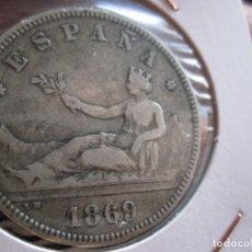 Monedas de España: REPUBLICA ESPAÑOLA 2 PTAS. 1869-18-69 FLOJOS - GOBIERNO PROVISIONAL. Lote 178866697