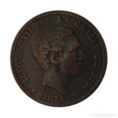 Monedas de España: ALFONSO XII * 10 CENTIMOS 1879 BARCELONA OM *. Lote 178900353