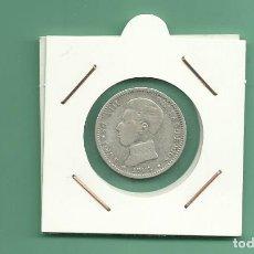 Monedas de España: PLATA-ESPAÑA:1 PESETA 1903. ALFONSO XIII. Lote 178956830