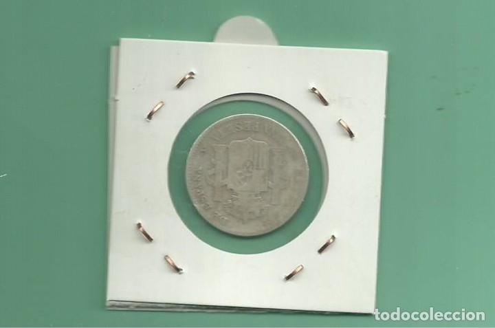 Monedas de España: PLATA-ESPAÑA:1 PESETA 1903. ALFONSO XIII - Foto 2 - 178956830