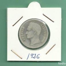 Monedas de España: PLATA-VENEZUELA: 2 BOLIVARES 1926. 10 GRAMOS DE LEY 0,835. Lote 179037822