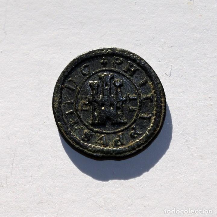 Monedas de España: 2 MARAVEDIS 1604 FELIPE III SEGOVIA - Foto 2 - 179152846