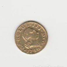 Monedas de España: CARLOS III- 1/2 ESCUDO- 1760-SEVILLA-JV. Lote 179548756