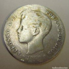 Monedas de España: MONEDA DE 1 PESETA DE ALFONSO XIII (19XX). Lote 179954883
