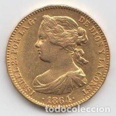 Monedas de España: MONEDA 100 REALES - ISABEL II - 1864 . Lote 180008562