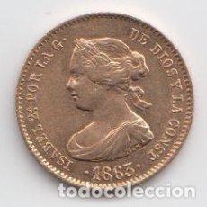 Monedas de España: ISABEL II 1863 - 40 REALES - BARCELONA. Lote 180009973