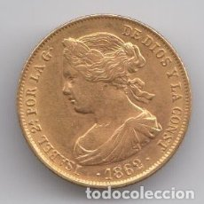 Monedas de España: ISABEL II 1862 - 100 REALES. Lote 180010327