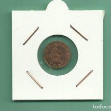Monedas de España: ESPAÑA: 1 CÉNTIMO 1870 I REPUBLICA. Lote 180012506
