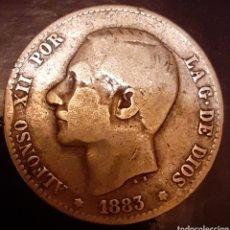 Monedas de España: 1 PESETA PLATA 1883*--*-- MS-M !! ESCASA !!. Lote 180034238